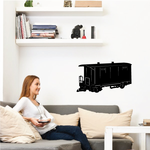 Small Boxcar Decal