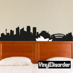 Sydney Skyline Decal