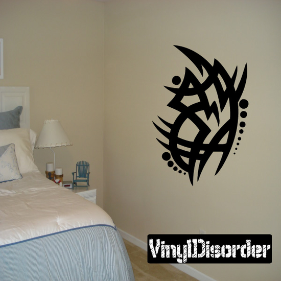 Classic Tribal Wall Decal - Vinyl Decal - Car Decal - DC 095
