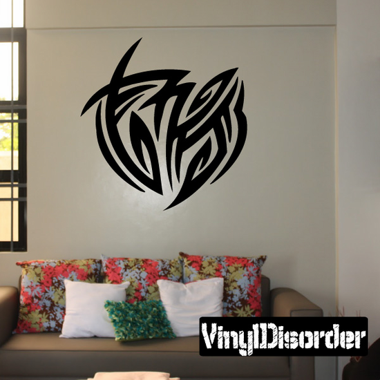 Classic Tribal Wall Decal - Vinyl Decal - Car Decal - DC 097
