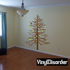 Bare Tree with birds and leaves - Vinyl Wall Decals