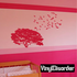 Birds flocking from Large Tree - Vinyl Wall Decals