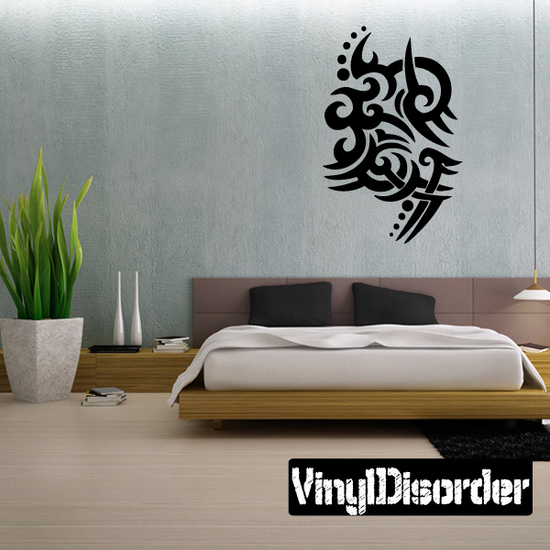 Classic Tribal Wall Decal - Vinyl Decal - Car Decal - DC 128