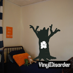 Tree Stump with Own in Tree Kit - Vinyl Wall Decals