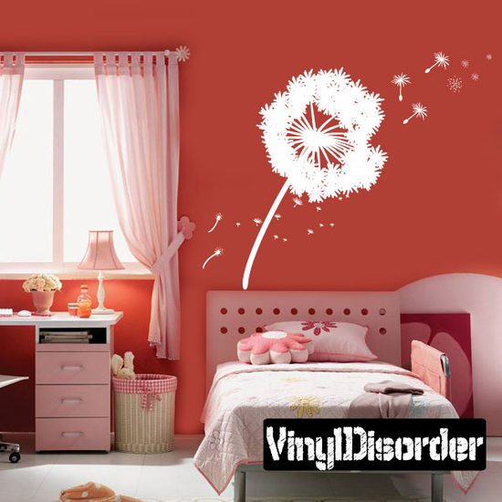 Dandelion Blowing in the wind kit - Wall Decals