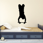 Handstand Boarder Skateboarding Wall Decal - Vinyl Decal - Car Decal - 010