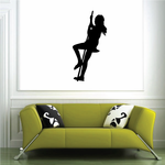 Tree Swing Wall Decal - Vinyl Decal - Car Decal - NS002