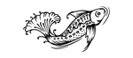Tribal Fish Decals