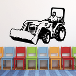 Farming Front Loader Decal