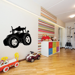Modern Tractor Decal