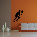 Tennis Wall Decal - Vinyl Decal - Car Decal - 001
