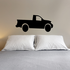 Truck Wall Decal - Vinyl Decal - Car Decal - DC015