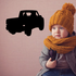 Taillights Truck Wall Decal - Vinyl Decal - Car Decal - DC020