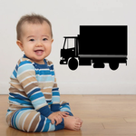 Box Truck Wall Decal - Vinyl Decal - Car Decal - DC027