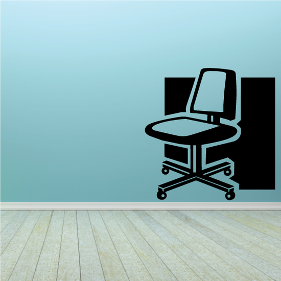 Office Computer Chair Decal