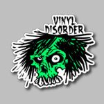 Green Skull Vinyl Disorder Free Sticker 11