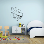 Saber Tooth Tiger Decal