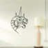 Horned Lizard King Decal