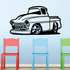 Cartoon Truck Wall Decal - Vinyl Decal - Car Decal - DC123