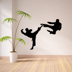 Sparing Karate Decal
