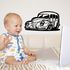 Cartoon Truck Wall Decal - Vinyl Decal - Car Decal - DC131