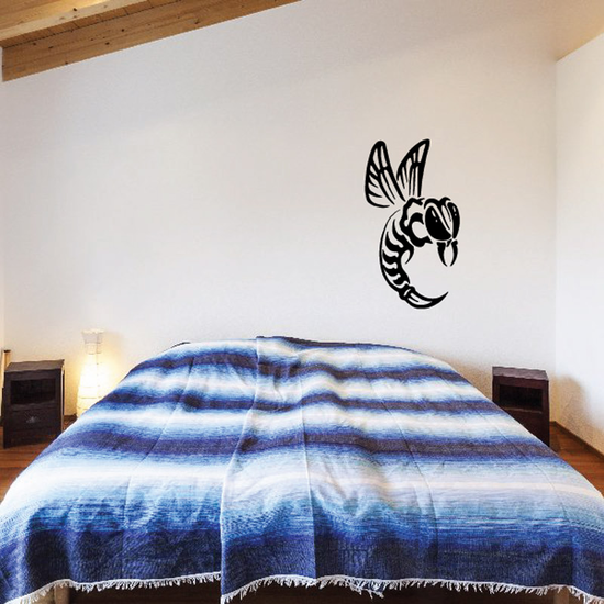 Wild Angry Hornet Decal