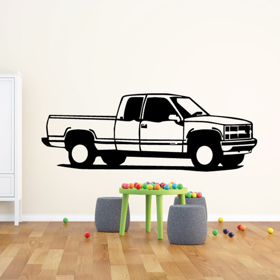 Truck Wall Decal - Vinyl Decal - Car Decal - DC150