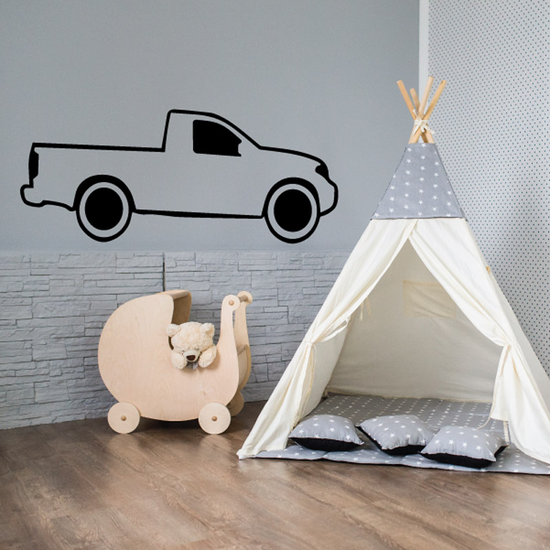 Truck Wall Decal - Vinyl Decal - Car Decal - DC151