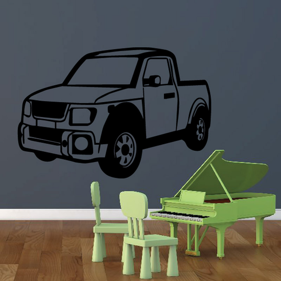 Truck Wall Decal - Vinyl Decal - Car Decal - DC153