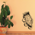 Porcupine Walking Out Decal