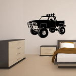Truck Wall Decal - Vinyl Decal - Car Decal - 008