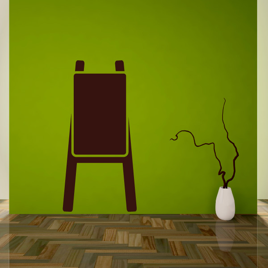 Canvas Stand Decal