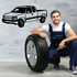 Truck Wall Decal - Vinyl Decal - Car Decal - 012
