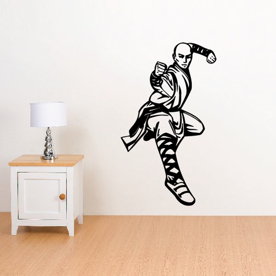 Karate Wall Decal - Vinyl Sticker - Car Sticker - Die Cut Sticker - CDSCOLOR002