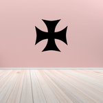 Cross Wall Decal - Vinyl Decal - Car Decal - CF043