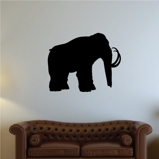 Woolly Mammoth Decal