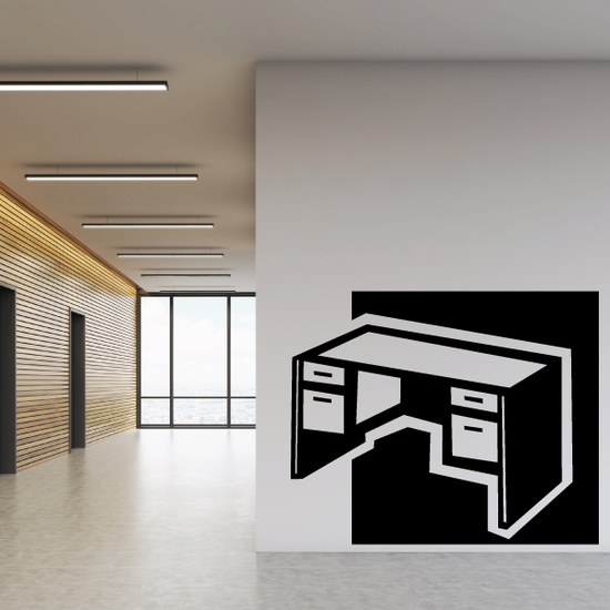 Office Desk Decal