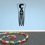Antique Candy Sign Decal