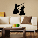 Karate Wall Decal - Vinyl Decal - Car Decal - AL 039
