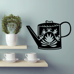 Flower Watering Can Decal