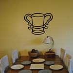 Double Handle Stein Decal