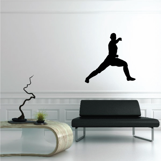 Kung Fu Wall Decal - Vinyl Decal - Car Decal - NS002