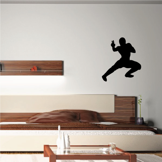 Kung Fu Wall Decal - Vinyl Decal - Car Decal - NS003