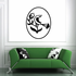 Weather Vane Flower With Bird Decal
