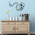Skull Wall Decal - Vinyl Decal - Car Decal - CF408