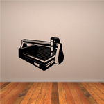 Plasma Table Wall Decal - Vinyl Decal - Car Decal - NS001