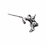 Martial Arts Wall Decal - Vinyl Decal - Car Decal - DC 008