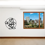 Karate Wall Decal - Vinyl Decal - Car Decal - Bl001