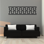 African Art Teeth Pattern Decal