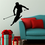 Back Country Skiing Decal